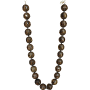 Smoky Quartz Necklace 18""