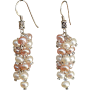 Freshwater cultured Pearls Earrings