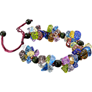 Multicolor Glass Bracelet