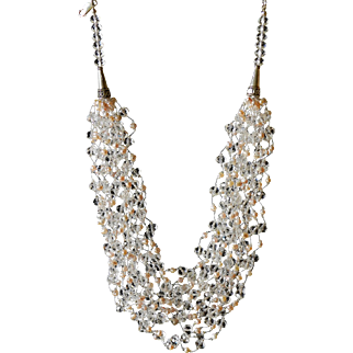 Crystals and Pearls Necklace