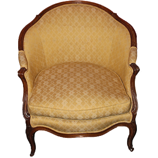Curved Back Bergere