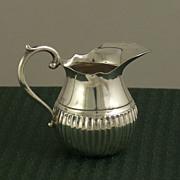 Miniature Silver Imperial German Creamer, Gebruder Kuhn, Schwabisch Gmund, c. 1900
