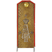 An Imperial Russian Lieutenant General's shoulder board, circa 1907