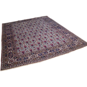 Stunning antique turn of the century Persian Lavar wool  hand knotted area rug, museum piece - Red Tag Sale Item