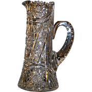 Stunning American Brilliant cut glass water pitcher,ABP, circa 1905, excellent condition