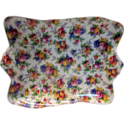 Royal Winton Evesham Chintz Dish - Vintage Bone China