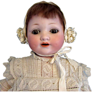 Armand Marseille 985 Dimpled Character Baby Doll 15 Inches Gorgeous!