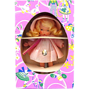 "Nancy Ann Storybook doll ""Margie Ann in Hat and Coat "" #82 Easter Box"