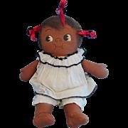 Georgene Averill 1923 Grace Drayton Chocolate Drop Cloth Doll