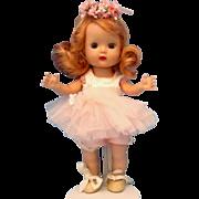 Nancy Ann Muffie Doll 1954 SLW Ballerina