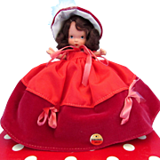 Nancy Ann Storybook Doll - #93 Winter MS - Sticker and Box