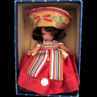 Nancy Ann Mexican Storybook Doll - #39 MSMB with Box