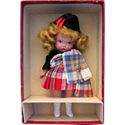 Nancy Ann Storybook Doll #38 Scotch JUDY ANN - Minty!