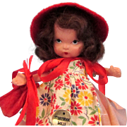 Nancy Ann Storybook Doll Judy Ann #120 To Market To Market with Box
