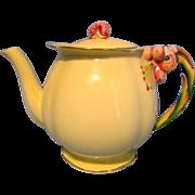 Royal Winton Vintage Yellow Tiger Lily Teapot