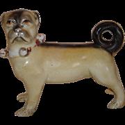 Antique German Pug Dog