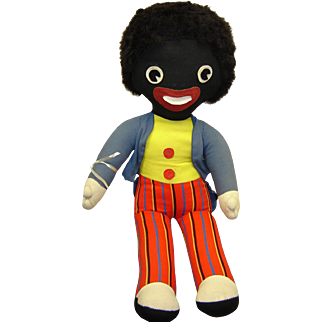 BIG Chad Valley Gollie Cloth Doll