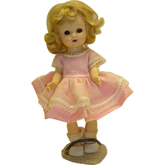 1950's Cosmopolitan Ginger Doll in Tagged Dress
