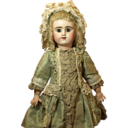 Antique Light Blond Mohair Doll Wig with Lots of Curls- A Wonderful Piece of History for the 19th Century Doll