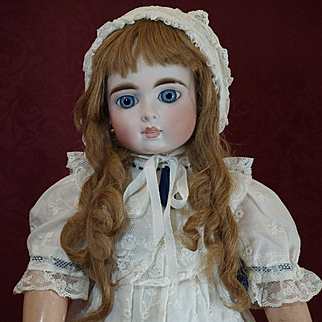 Rare Antique French Bebe -Closed Mouth-Exquisite Face-from the 19th Century  ♥ ♥