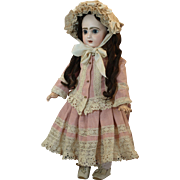 Antique Jumeau Bebe in her Finest - Gorgeous Features - ♥ ♥ Bisque has no Cracks, Fine lines or Restorations!