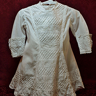 Antique Dress with Beautiful Embroidery