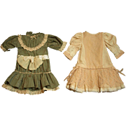 Two Lovely Vintage Doll Dresses at only $34.00 Each Dress!