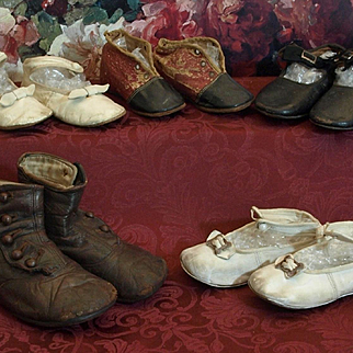Five Pair of Antique Shoes in this Lot -Priced at $15.00 EACH ♥♥