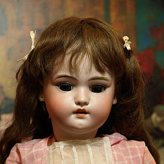 """Early German Antique 19"""" Simon & Halbig-Produced Prior to 1905 ♥♥"""