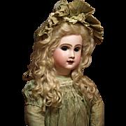 Outstanding Phenix French Bebe - Henri Alexandre Circa 1889-1895 with Original Couture Antique Costume ♥♥