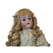 "Adorable 21"" Simon & Halbig K&R Antique Doll"