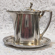 New York Central Lines -Covered Syrup w/ Under Plate - Silver Soldered