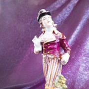 Vintage Hallmark - Crown over R - Capodimonte Figurine