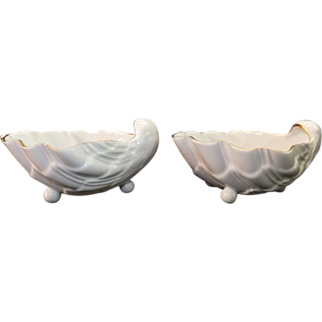 Pair Shell Salts from Metropolitan Museum of Art - Catherine the Great - State Russian Museum