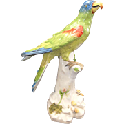 Samson Hard Paste Porcelain PARROT - Crossed Sword