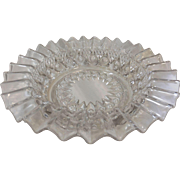 REVERSE TORPEDO BOWL by Dalzell, Gillmore, and Leighton Glass Co., 1892  No. 49D