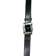 Angela Cummings Sterling Silver Watch