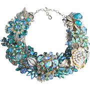 MESMERIZING!  Artisan One of a Kind Statement Necklace