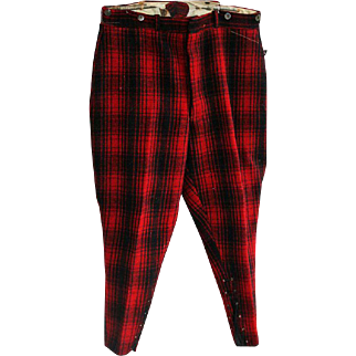 Vintage Hunting Pants Woolrich Woolen Mills Pennsylvania Mid-Century