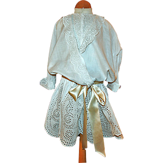 Broderie Anglaise Dress for a Little Child c1900