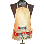 Carpenter's Canvas Apron Advertising Chesterfield c1930-40s