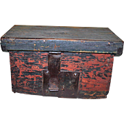 Early Pine Box ca Mid-1800s