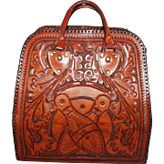 Best Bowling Bag ~ Hand-Tooled c1960