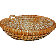 Antique New England Dough Basket c1860