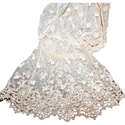 Victorian Lace Sleeves, Unpicked * Limerick and Tambour