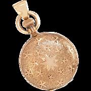 "Antique: Victorian ""Shooting Stars"" Pocket Watch"