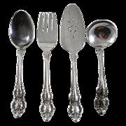 Grande Tradition by Lifetime Cutlery Flatware 4 Piece Serving Set