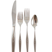 Oneida Community Flatware Pattern Woodmere 4 Piece Place Setting