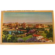 Early-Mid 1900's UCLA University of California Los Angeles, CA NOS Postcard