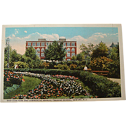 1915-1930's East Side Park Commercial Manual Training School Neward Postcard